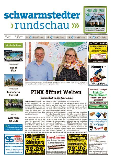 Schwarmstedter Rundschau vom 27.06.2019