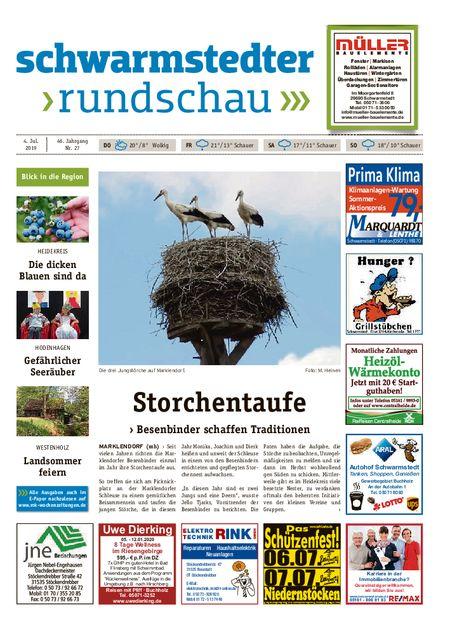 Schwarmstedter Rundschau vom 04.07.2019
