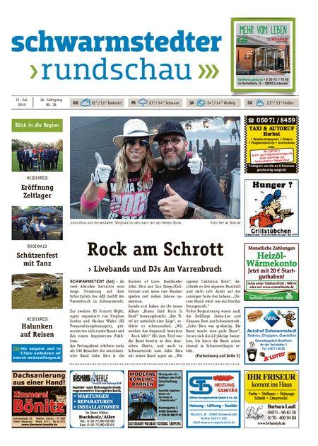 Schwarmstedter Rundschau vom 11.07.2019