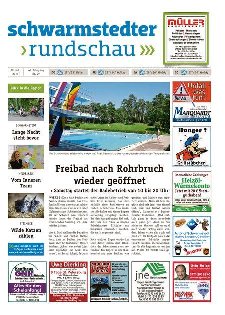 Schwarmstedter Rundschau vom 18.07.2019
