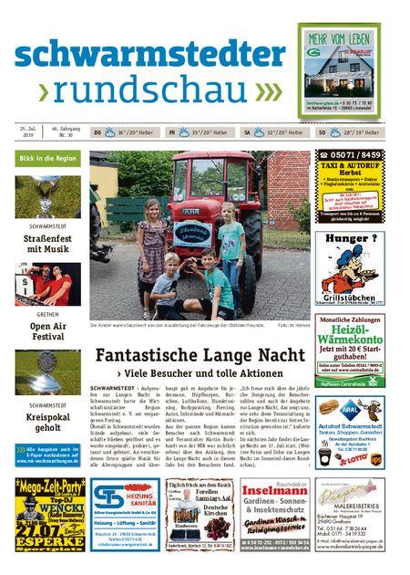 Schwarmstedter Rundschau vom 25.07.2019