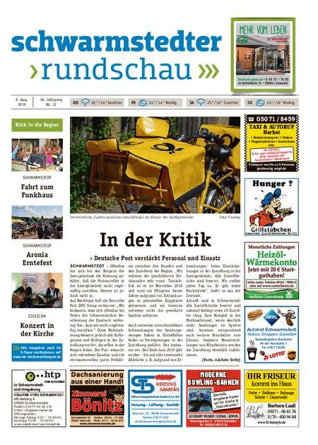 Schwarmstedter Rundschau vom 08.08.2019