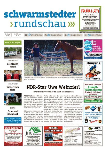 Schwarmstedter Rundschau vom 29.08.2019