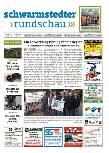 Schwarmstedter Rundschau vom 30.10.2019