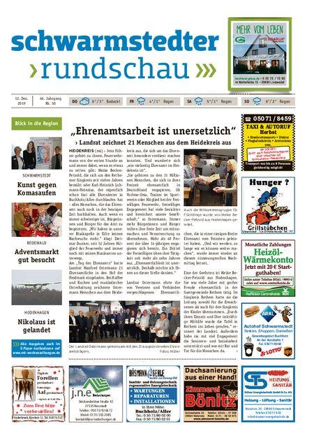Schwarmstedter Rundschau vom 12.12.2019