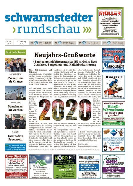 Schwarmstedter Rundschau vom 02.01.2020
