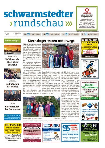Schwarmstedter Rundschau vom 09.01.2020