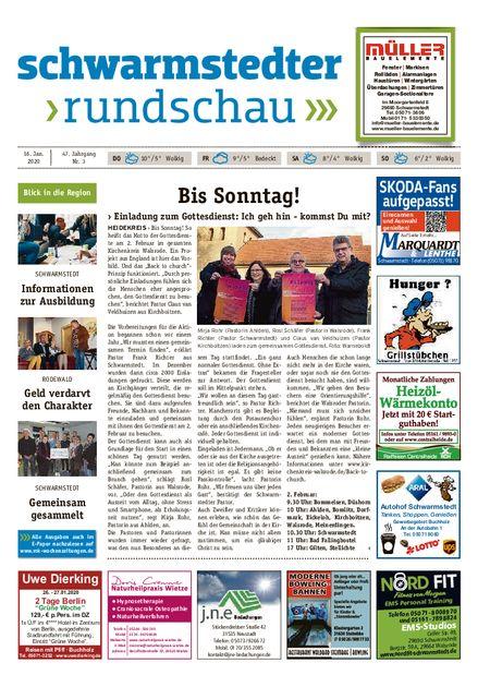 Schwarmstedter Rundschau vom 16.01.2020