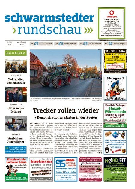 Schwarmstedter Rundschau vom 23.01.2020