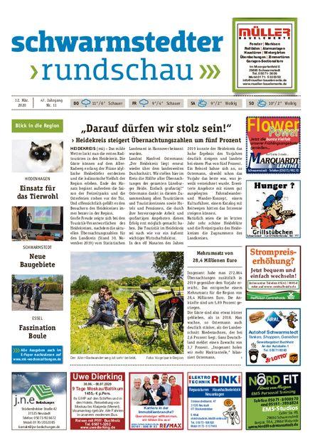 Schwarmstedter Rundschau vom 12.03.2020