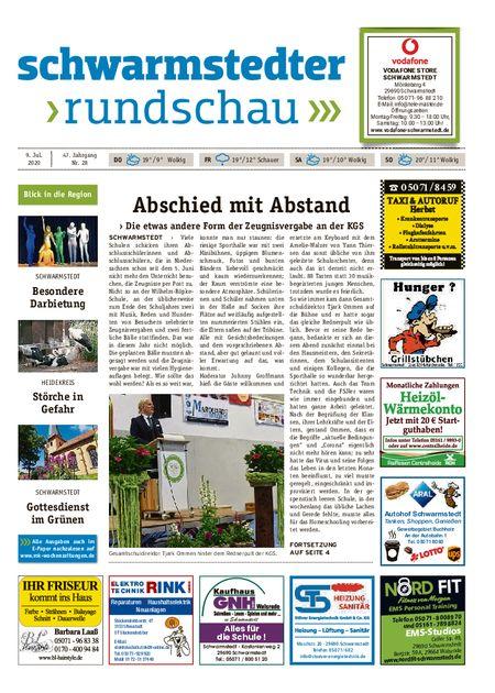 Schwarmstedter Rundschau vom 09.07.2020