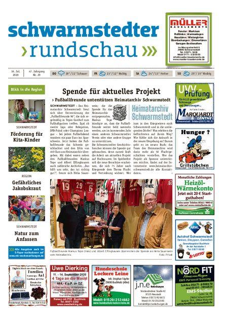 Schwarmstedter Rundschau vom 16.07.2020