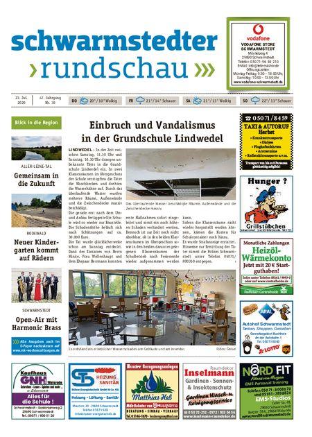 Schwarmstedter Rundschau vom 23.07.2020