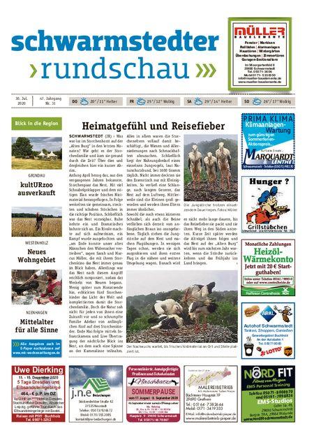 Schwarmstedter Rundschau vom 30.07.2020