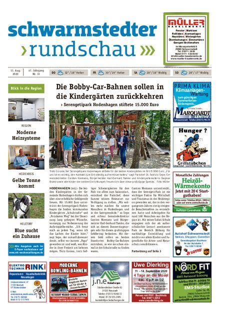 Schwarmstedter Rundschau vom 13.08.2020