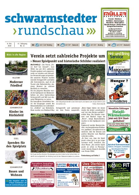 Schwarmstedter Rundschau vom 08.10.2020