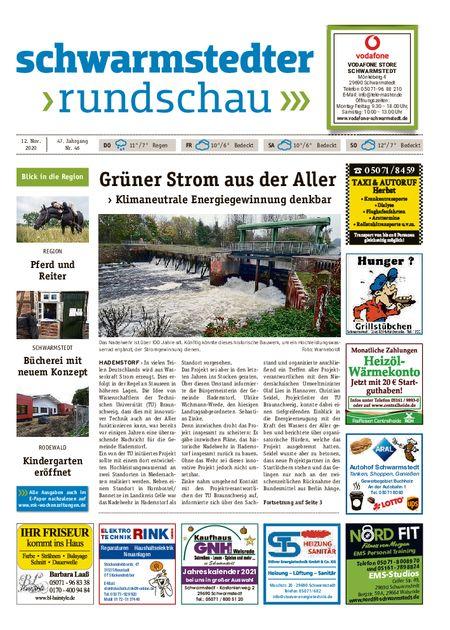 Schwarmstedter Rundschau vom 12.11.2020