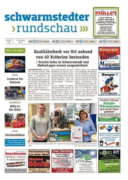 Schwarmstedter Rundschau vom 19.11.2020