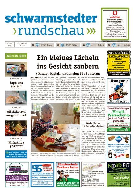Schwarmstedter Rundschau vom 26.11.2020