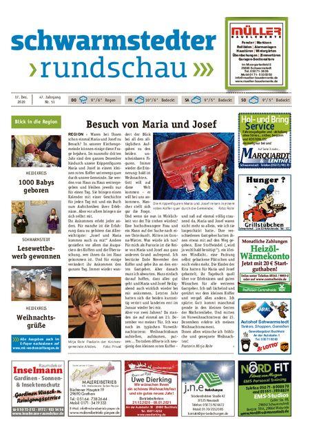 Schwarmstedter Rundschau vom 17.12.2020