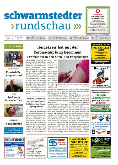 Schwarmstedter Rundschau vom 09.01.2021