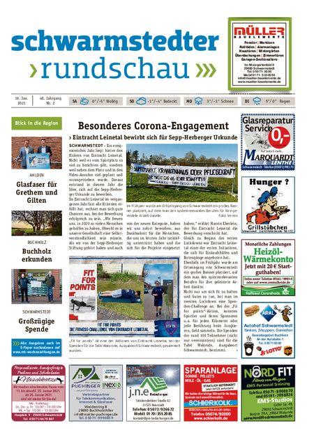 Schwarmstedter Rundschau vom 16.01.2021
