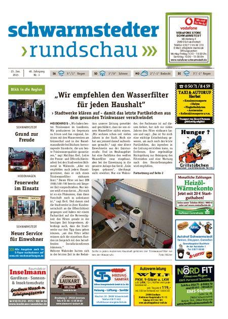 Schwarmstedter Rundschau vom 23.01.2021