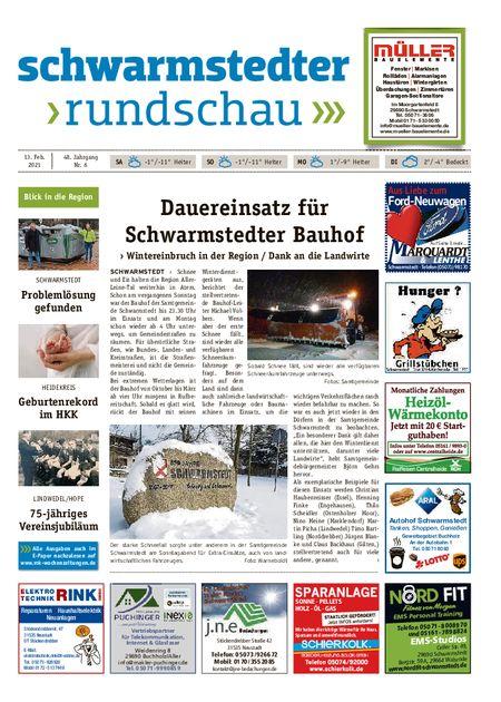 Schwarmstedter Rundschau vom 13.02.2021