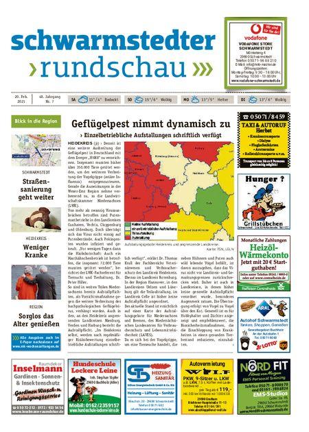 Schwarmstedter Rundschau vom 20.02.2021