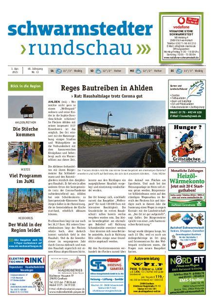 Schwarmstedter Rundschau vom 03.04.2021