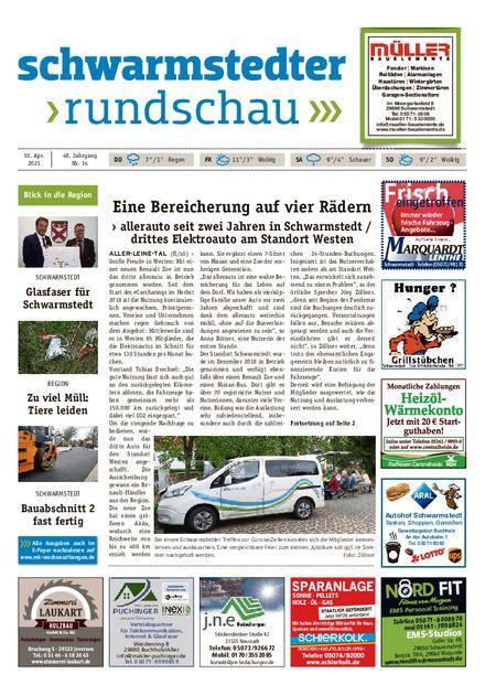 Schwarmstedter Rundschau vom 10.04.2021