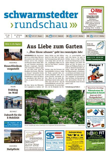 Schwarmstedter Rundschau vom 30.04.2021