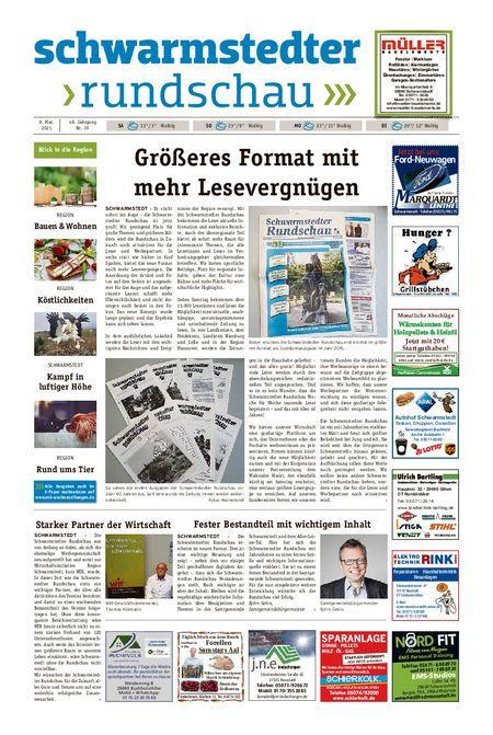 Schwarmstedter Rundschau vom 08.05.2021
