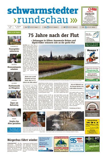 Schwarmstedter Rundschau vom 15.05.2021