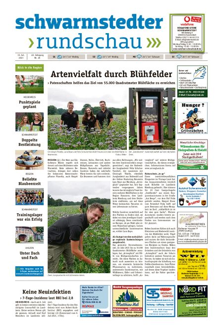 Schwarmstedter Rundschau vom 10.07.2021