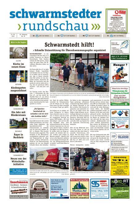 Schwarmstedter Rundschau vom 24.07.2021