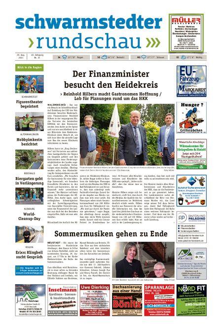 Schwarmstedter Rundschau vom 28.08.2021