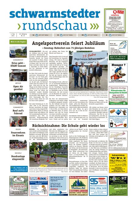 Schwarmstedter Rundschau vom 04.09.2021