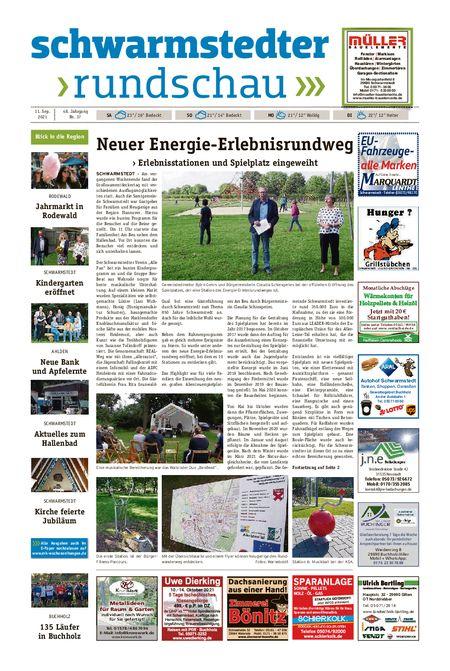 Schwarmstedter Rundschau vom 11.09.2021