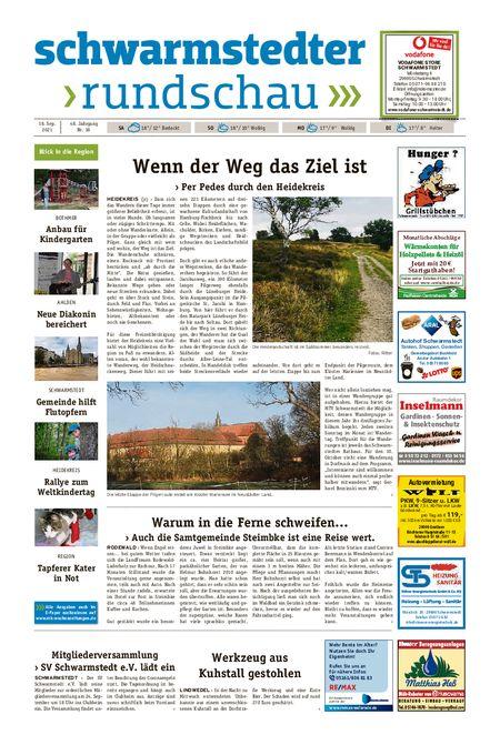 Schwarmstedter Rundschau vom 18.09.2021
