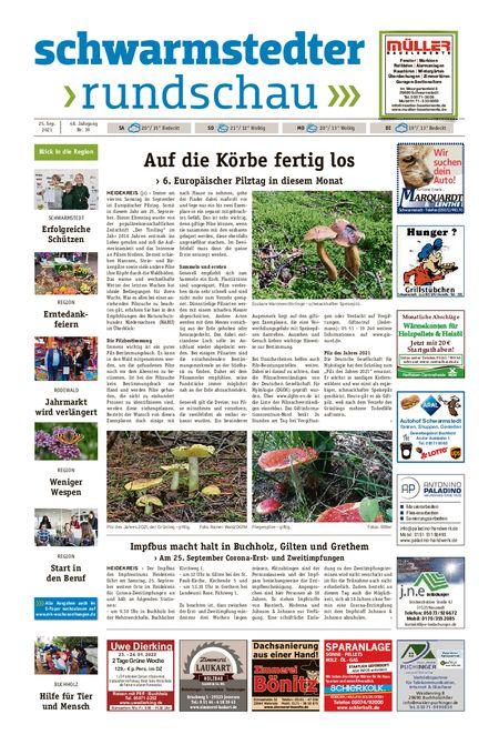 Schwarmstedter Rundschau vom 25.09.2021