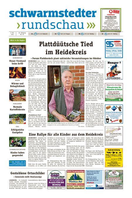 Schwarmstedter Rundschau vom 02.10.2021