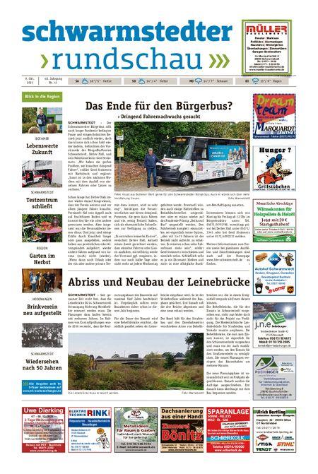 Schwarmstedter Rundschau vom 09.10.2021