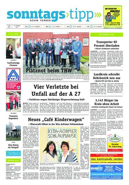 Sonntags-Tipp Achim-Verden vom 03.02.2019