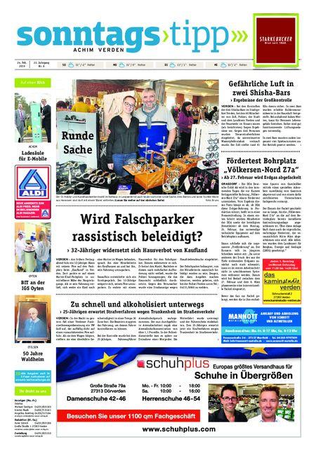 Sonntags-Tipp Achim-Verden vom 24.02.2019