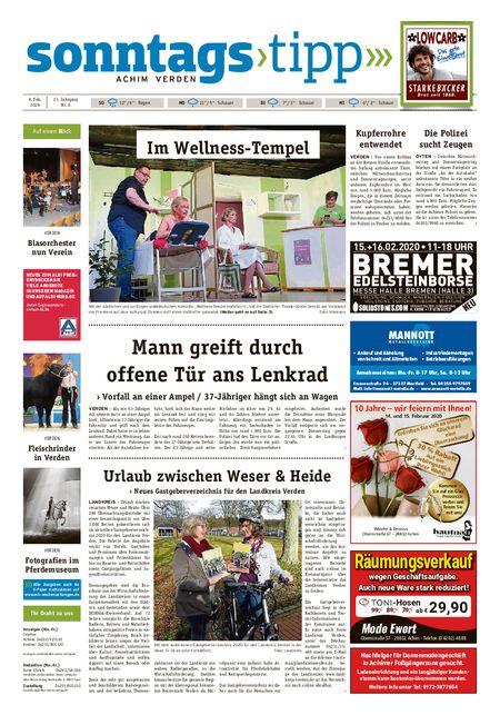Sonntags-Tipp Achim-Verden vom 08.02.2020