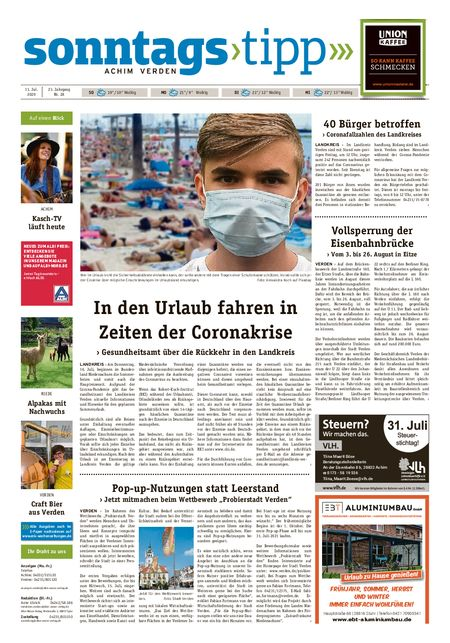 Sonntags-Tipp Achim-Verden vom 11.07.2020