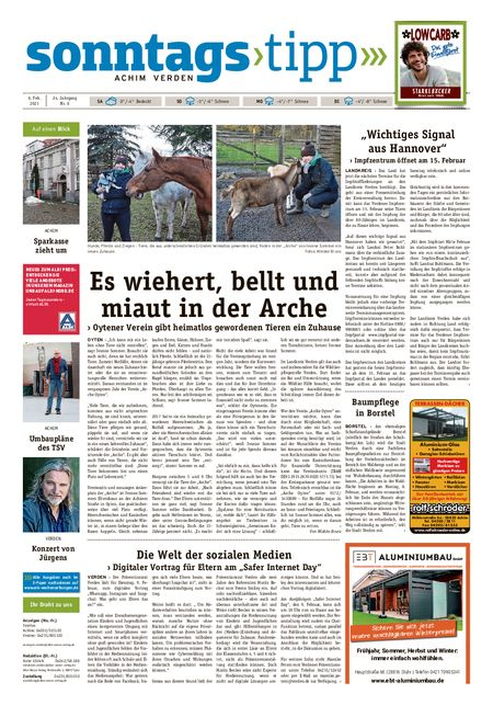 Sonntags-Tipp Achim-Verden vom 06.02.2021