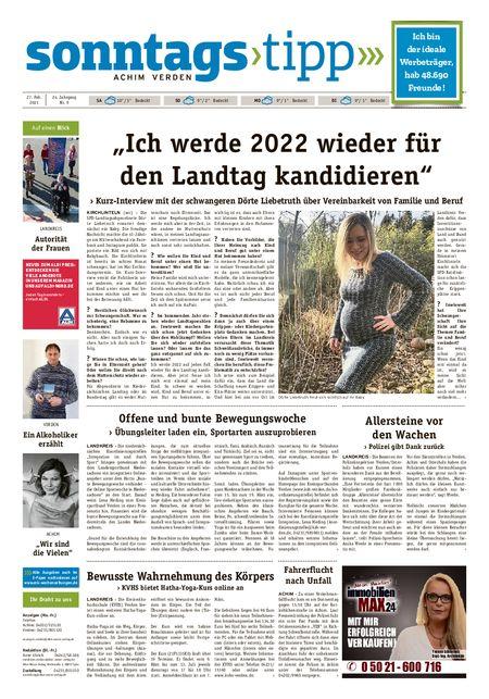 Sonntags-Tipp Achim-Verden vom 27.02.2021