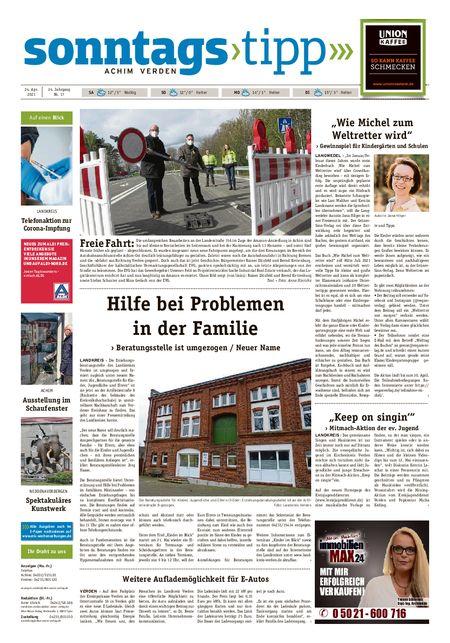 Sonntags-Tipp Achim-Verden vom 24.04.2021